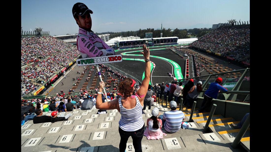Fans - GP Mexiko - Formel 1 - Freitag - 27.10.2017