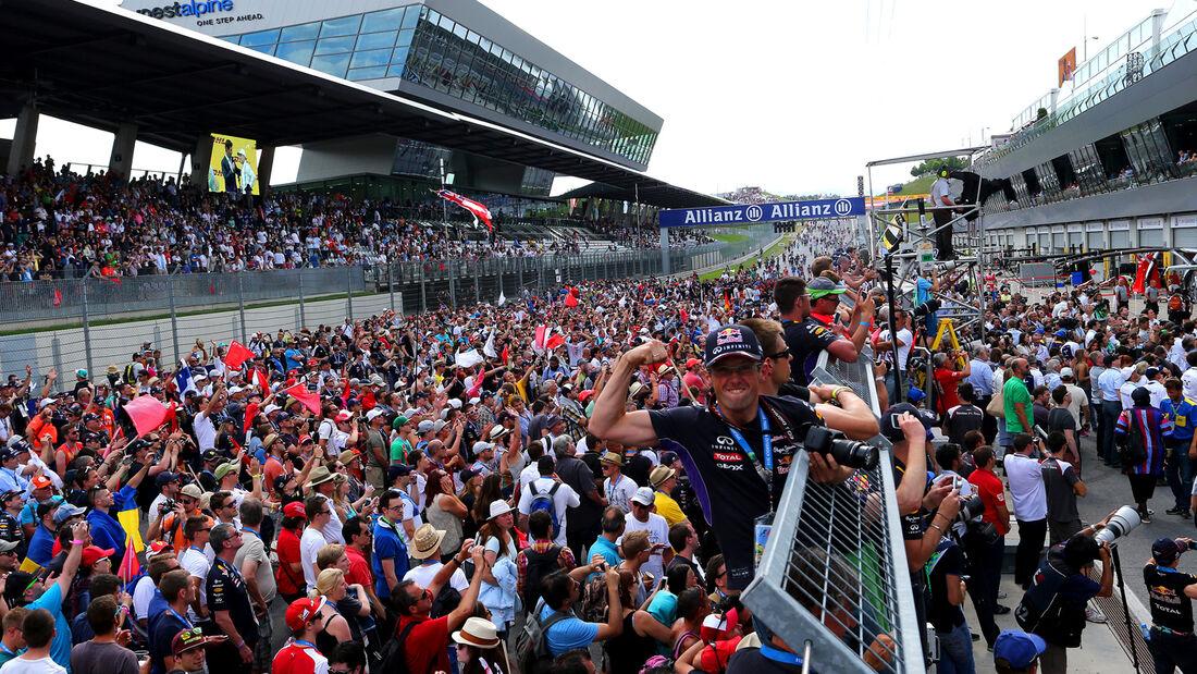 Fans - GP Österreich 2014