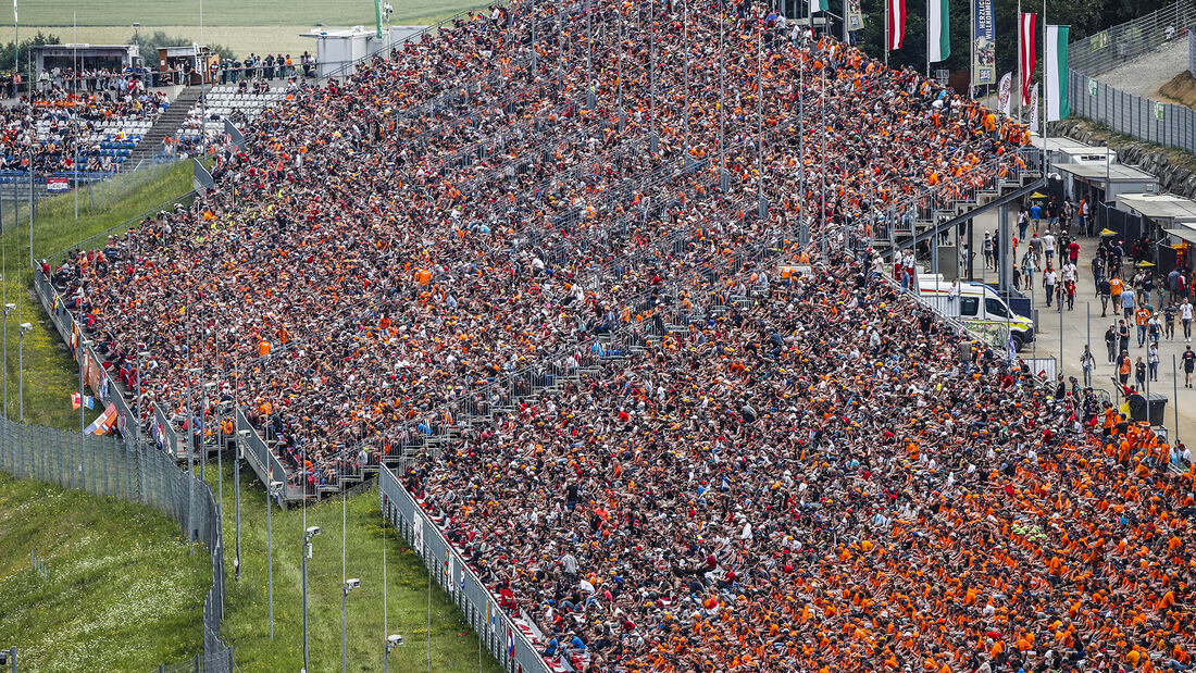 Fans - GP Österreich 2021 - Spielberg - Rennen
