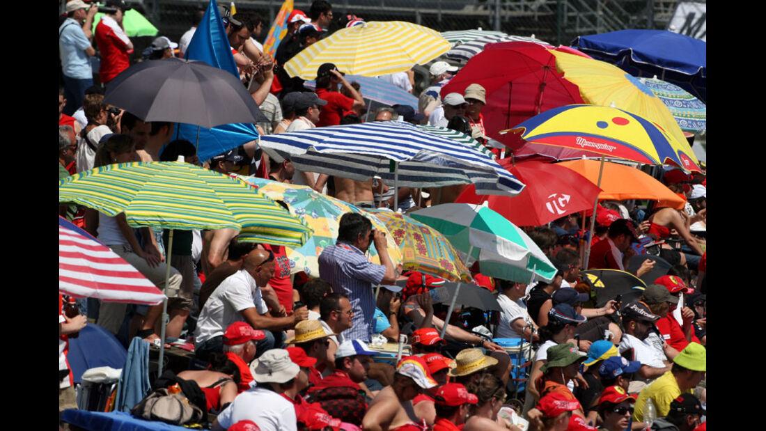Fans GP Spanien 2011 Rennen