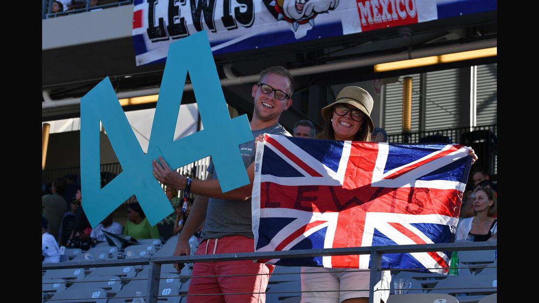 Fans - GP USA 2017 - Rennen