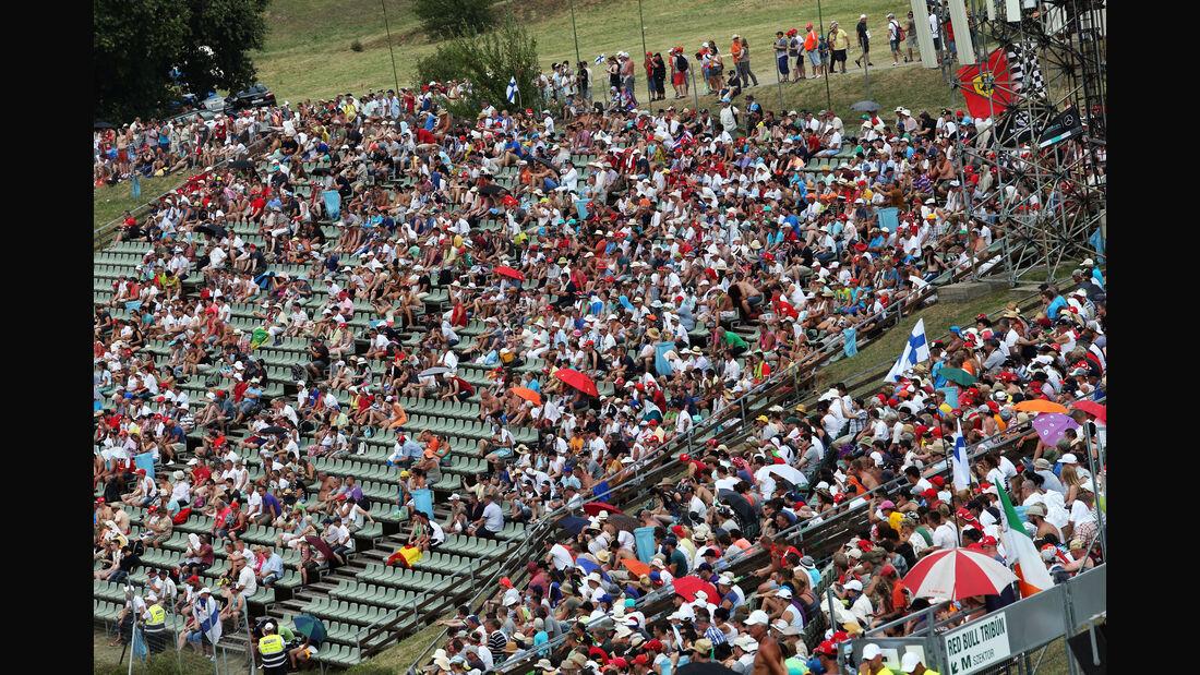 Fans - GP Ungarn - Budapest - Qualifying - Samstag - 25.7.2015