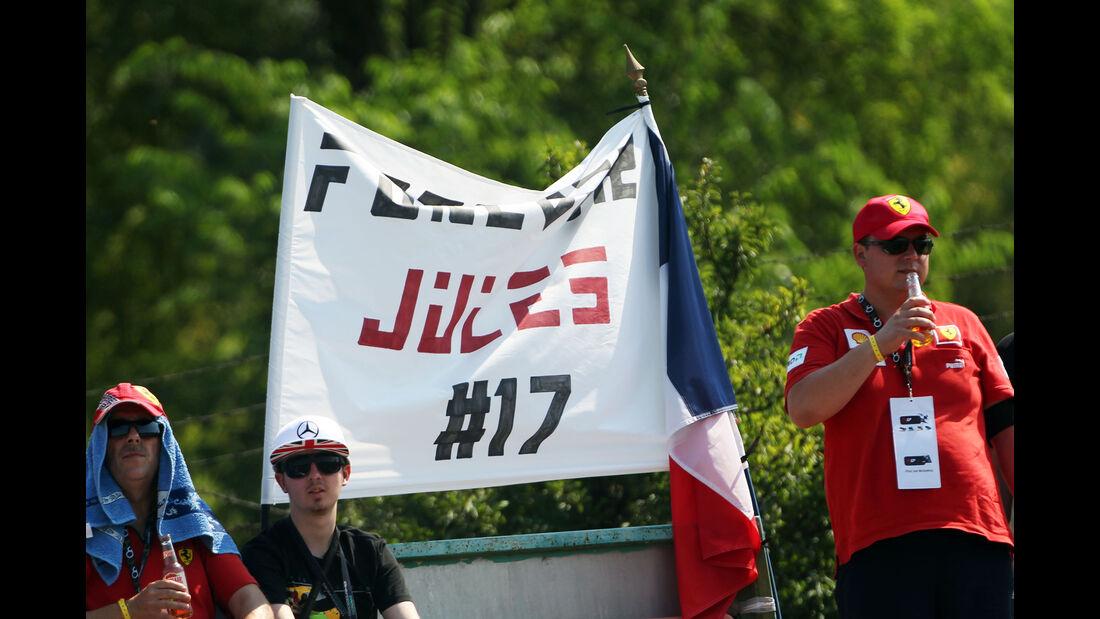 Fans - Jules Bianchi - GP Ungarn 2015