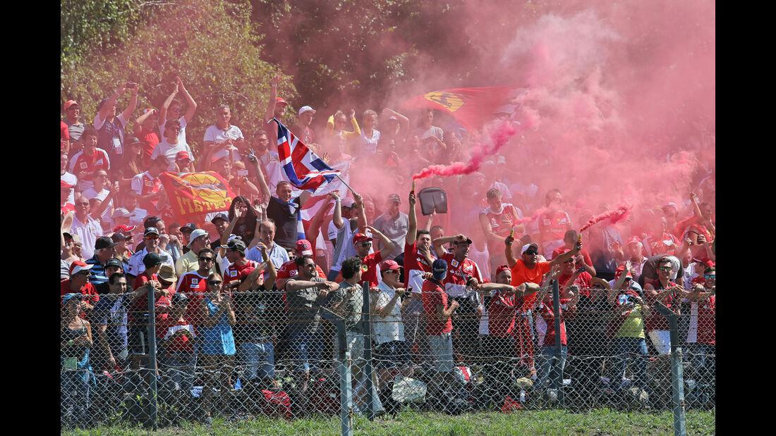 Fans - Tifosi - GP Italien 2015 - Monza