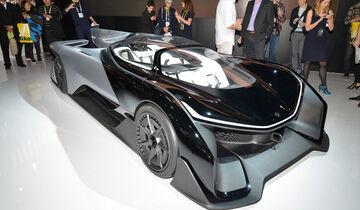 Faraday Future Concept, Studie, Sportwagen