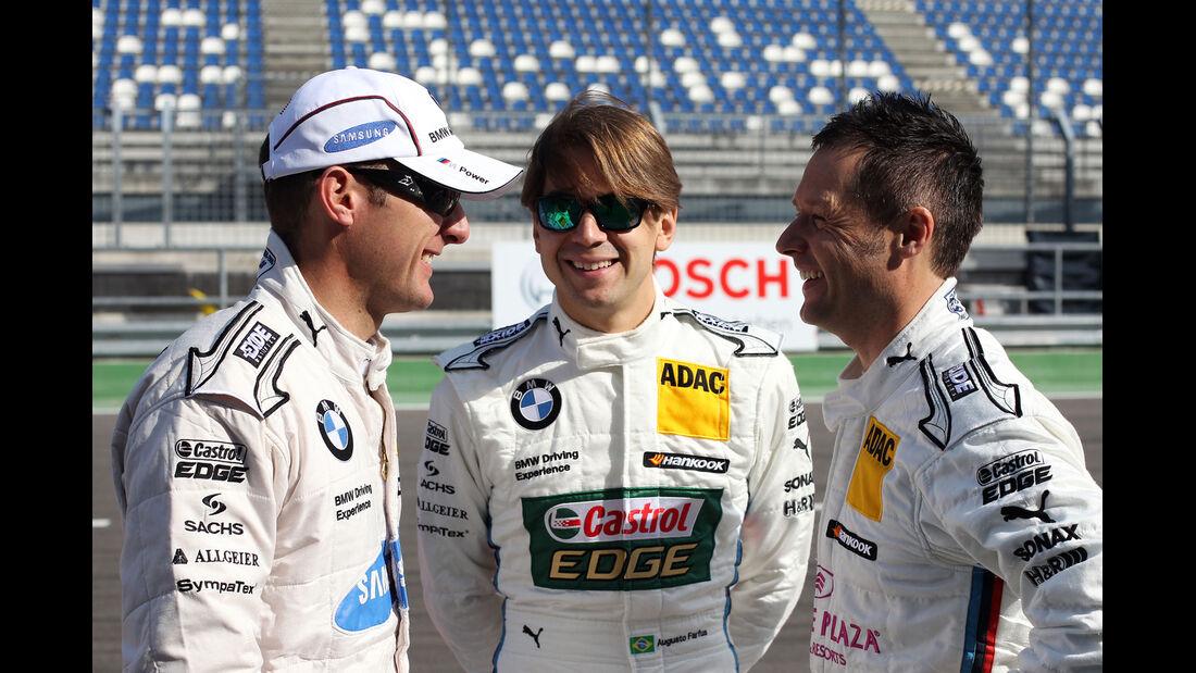 Farfus Priaulx Hand BMW DTM Lausitzring 2012
