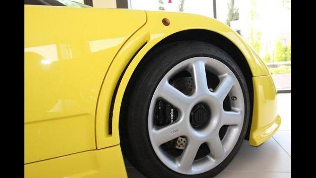 Felge Bugatti EB 110 von Michael Schumacher
