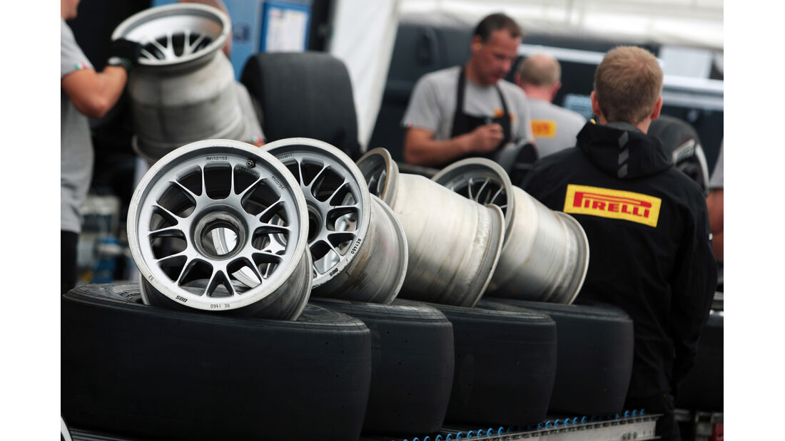 Felgen - Formel 1 - GP Belgien - Spa - 30.8.2012