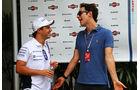 Felipe Massa & Bruno Senna - Formel 1 - GP Malaysia - 27. März 2014