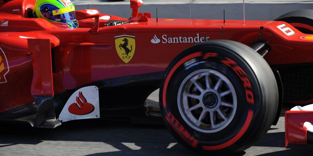 Felipe Massa - F1-Test - Barcelona 2012