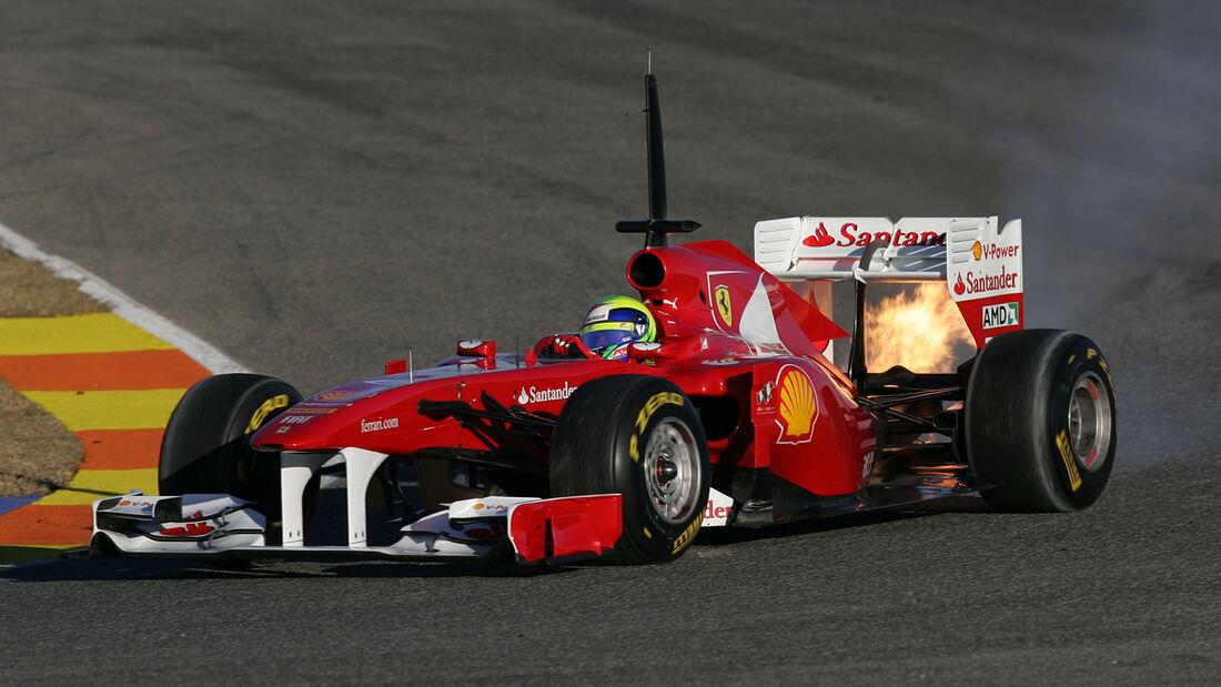 Felipe Massa - F1-Test Valencia 2011