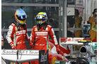 Felipe Massa - Fernando Alonso - Ferrari - Formel 1 - GP China - 13. April 2013