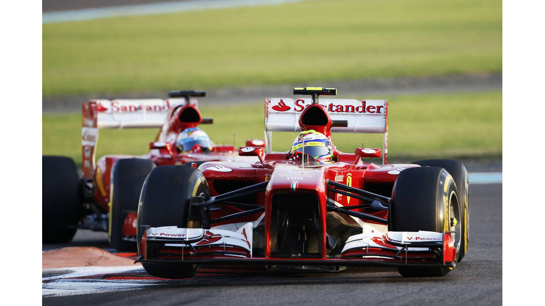 Felipe Massa - Fernando Alonso - Formel 1 - GP Abu Dhabi - 03. November 2013