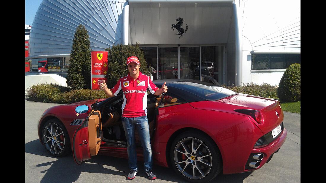 Felipe Massa - Ferrari California