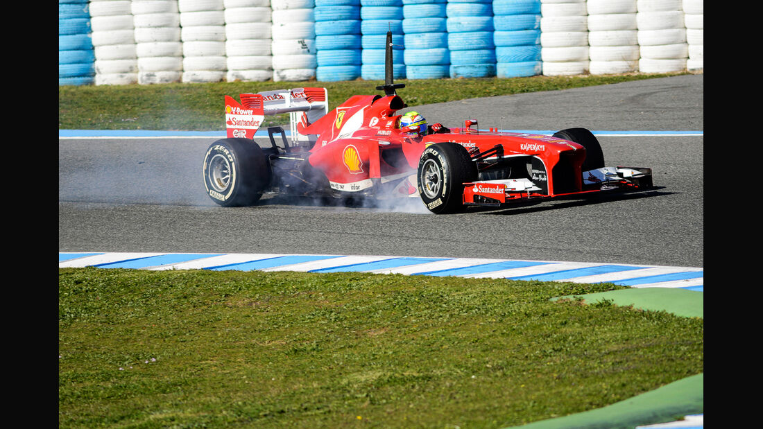 Felipe Massa Ferrari F1 Test Jerez 2013 Highlights