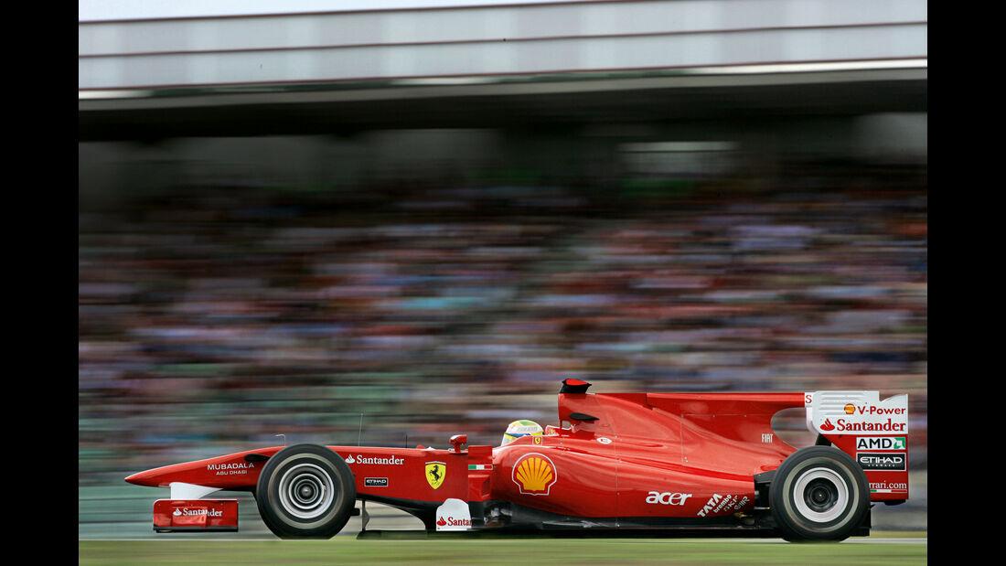 Felipe Massa - Ferrari F10 - GP Deutschland 2010