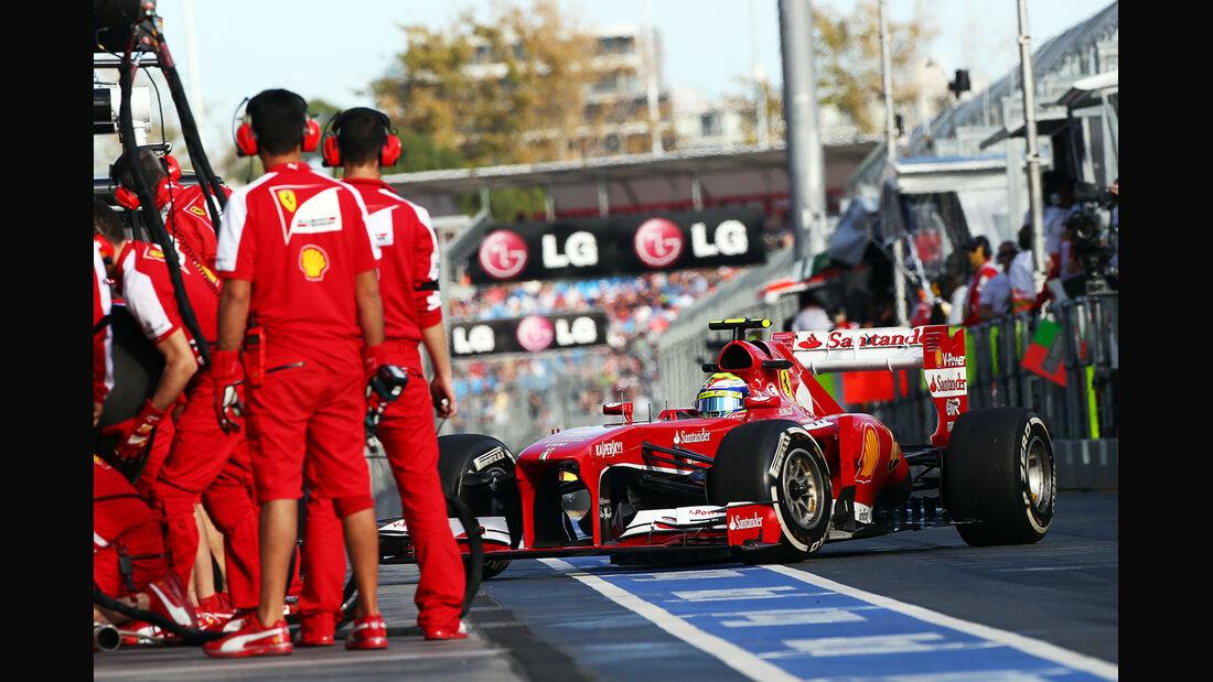 Felipe Massa - Ferrari - Formel 1 - GP Australien - 15. März 2013