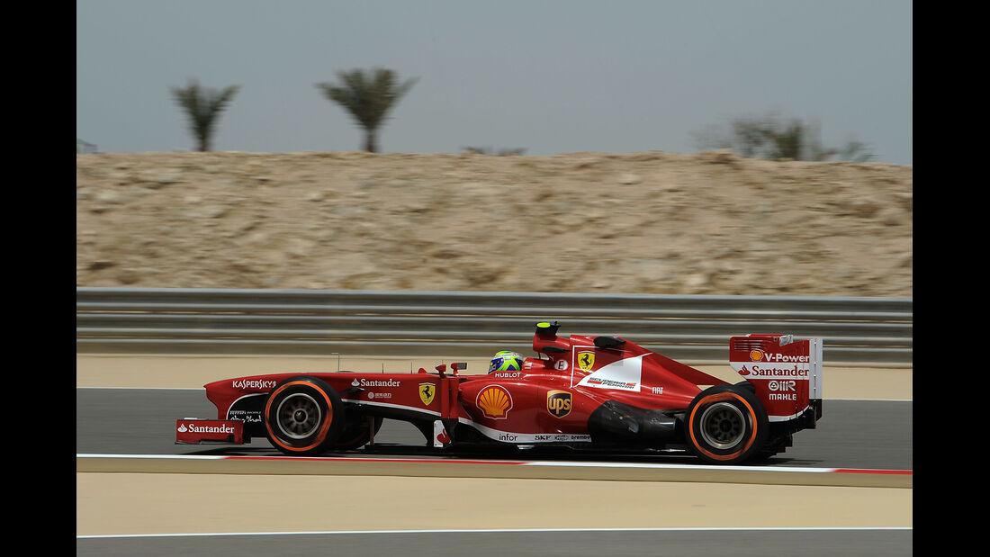 Felipe Massa - Ferrari - Formel 1 - GP Bahrain - 19. April 2013