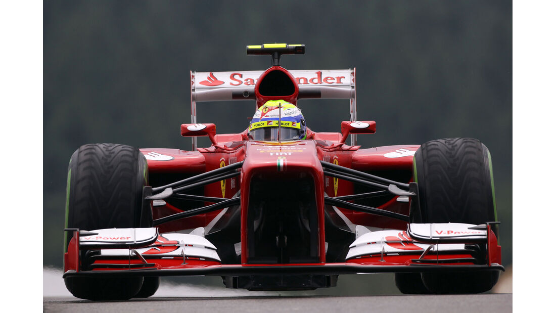 Felipe Massa - Ferrari - Formel 1 - GP Belgien - Spa Francorchamps - 23. August 2013