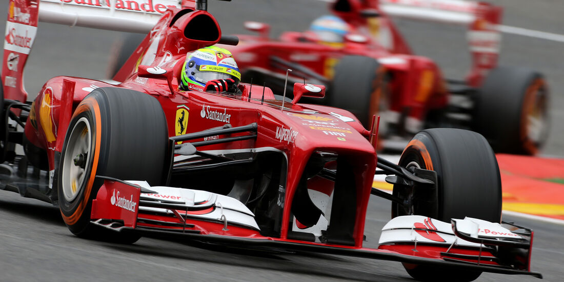 Felipe Massa - Ferrari - Formel 1 - GP Belgien - Spa-Francorchamps - 24. August