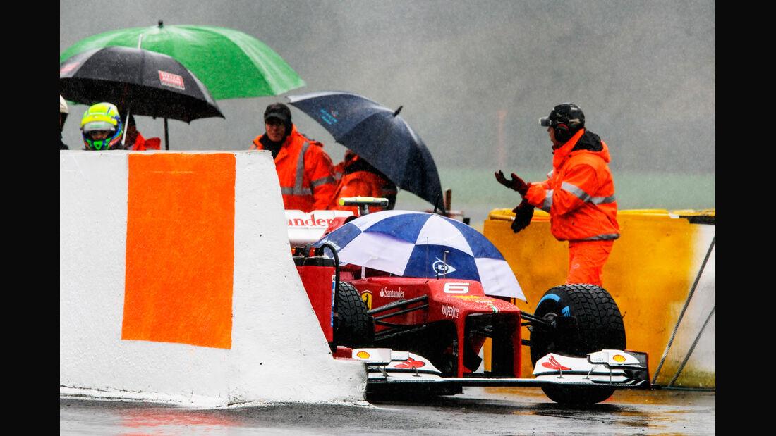 Felipe Massa - Ferrari - Formel 1 - GP Belgien - Spa-Francorchamps - 31. August 2012