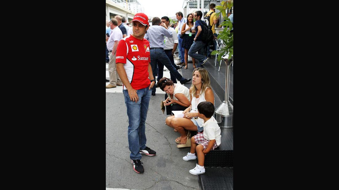 Felipe Massa - Ferrari - Formel 1 - GP Brasilien - Sao Paulo - 24. November 2012