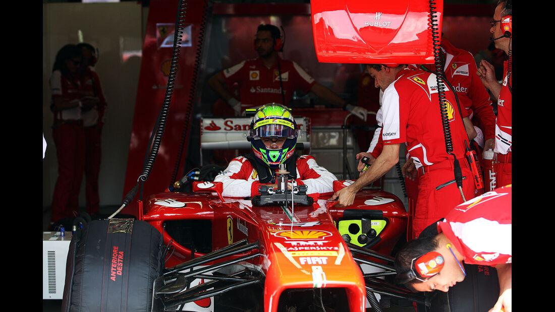 Felipe Massa - Ferrari - Formel 1 - GP Deutschland - 6. Juli 2013