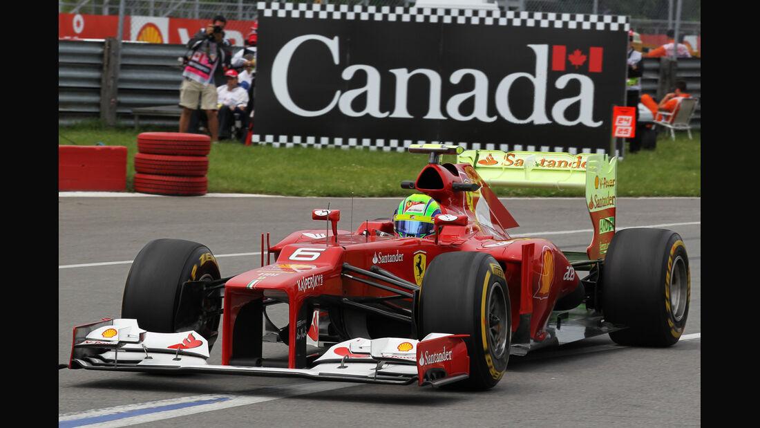 Felipe Massa - Ferrari - Formel 1 - GP Kanada - 8. Juni 2012