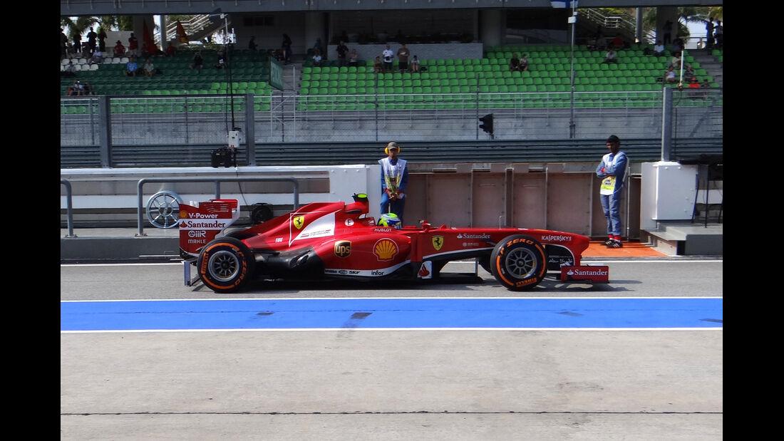 Felipe Massa - Ferrari - Formel 1 - GP Malaysia - 22. März 2013