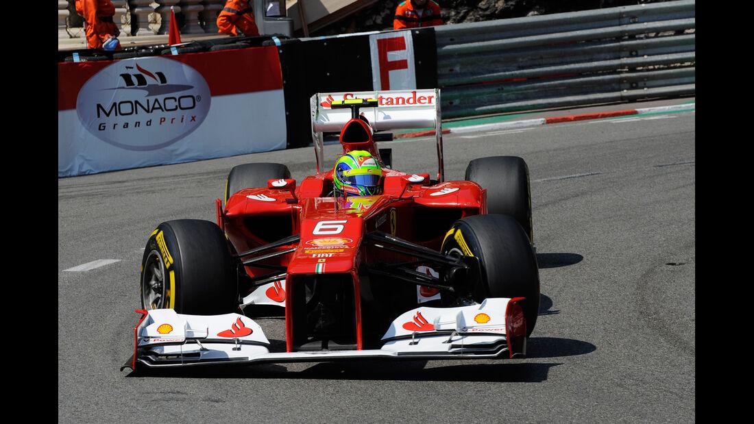 Felipe Massa - Ferrari - Formel 1 - GP Monaco - 26. Mai 2012