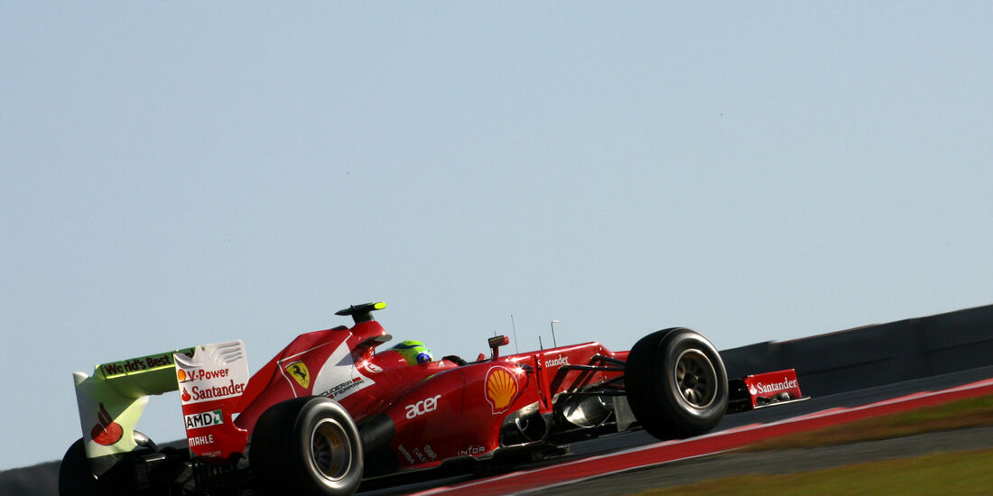 Felipe Massa - Ferrari - Formel 1 - GP USA - Austin - 16. November 2012