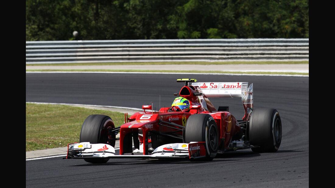 Felipe Massa - Ferrari - Formel 1 - GP Ungarn - Budapest - 27. Juli 2012
