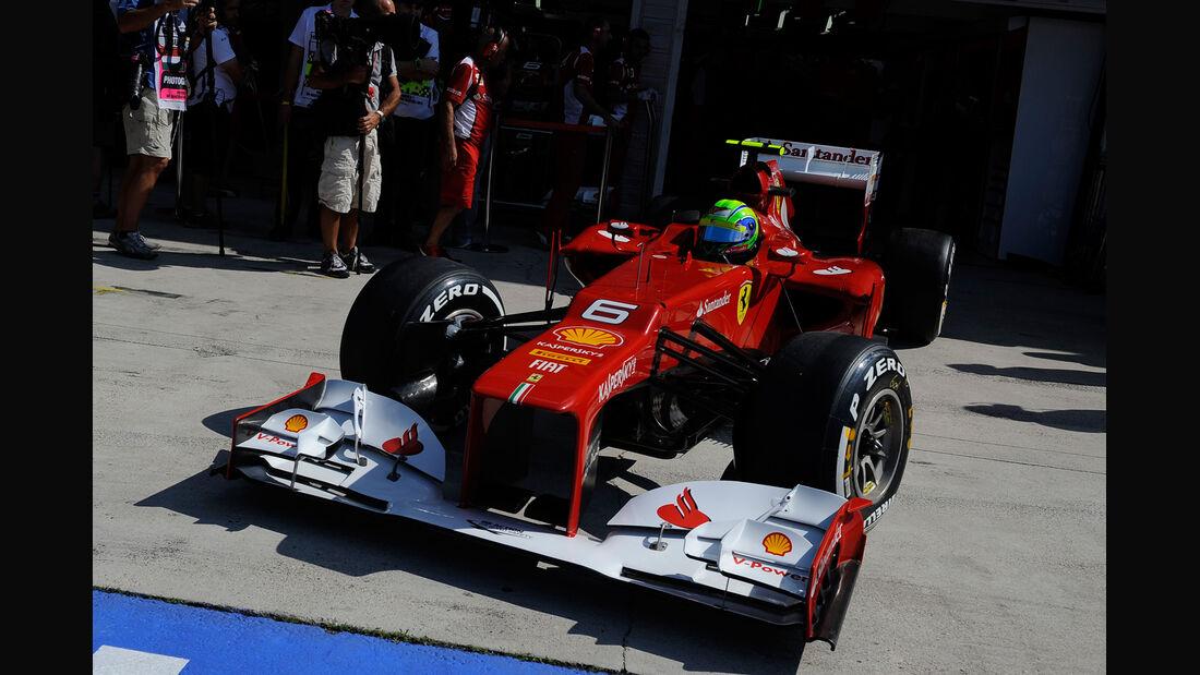 Felipe Massa - Ferrari - Formel 1 - GP Ungarn - Budapest - 28. Juli 2012