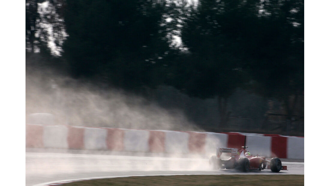 Felipe Massa - Ferrari - Formel 1-Test - Barcelona - 2012
