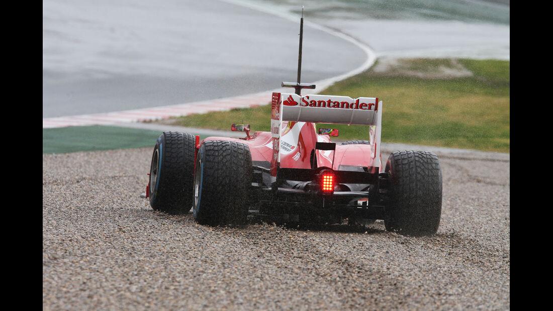 Felipe Massa, Ferrari, Formel 1-Test, Barcelona, 28. Februar 2013