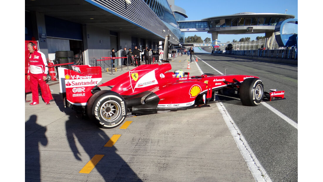 Felipe Massa - Ferrari - Formel 1 - Test - Jerez - 7. Februar 2013