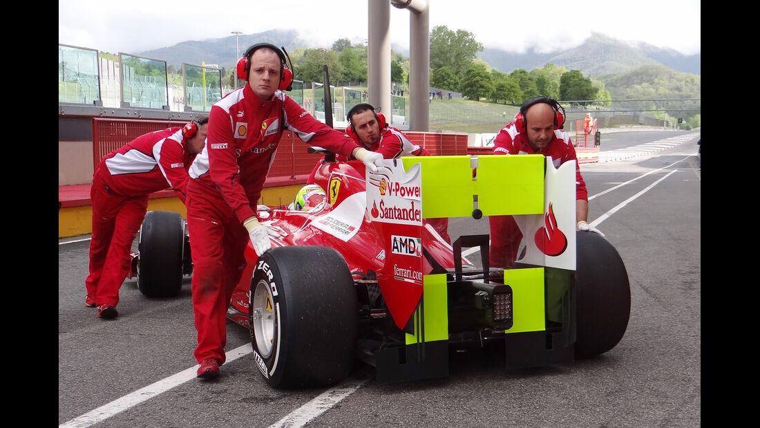 Felipe Massa - Ferrari - Formel 1-Test - Mugello - 2. Mai 2012