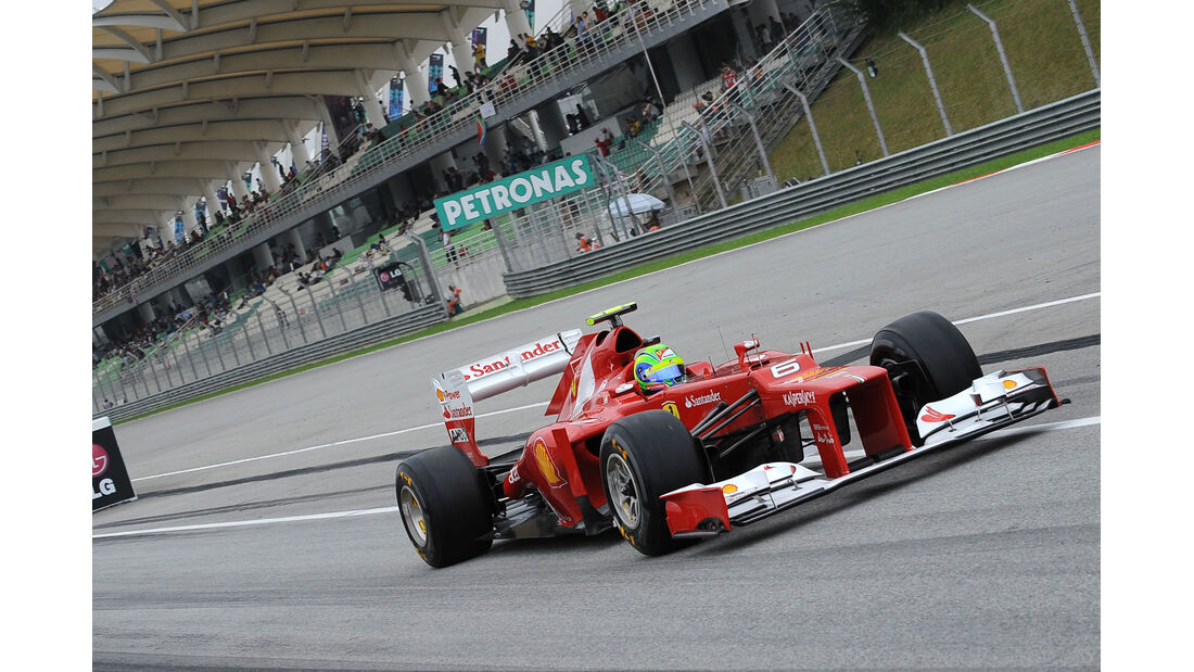 Felipe Massa - Ferrari - GP Malaysia 2012