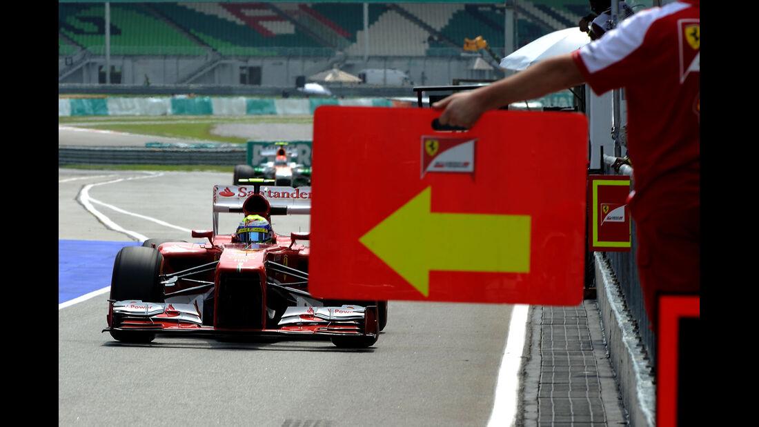 Felipe Massa - Ferrari - GP Malaysia - 23. März 2013