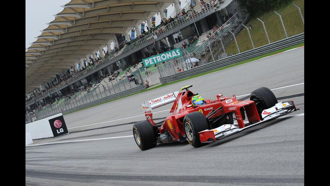 Felipe Massa - Ferrari - GP Malaysia - 24. März 2012