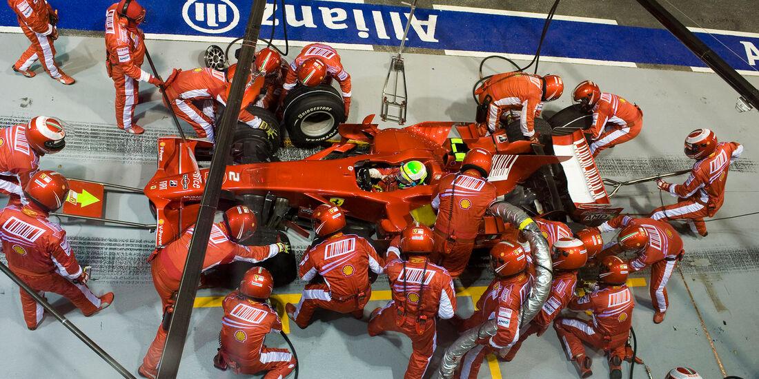 Felipe Massa - Ferrari - GP Singapur 2008