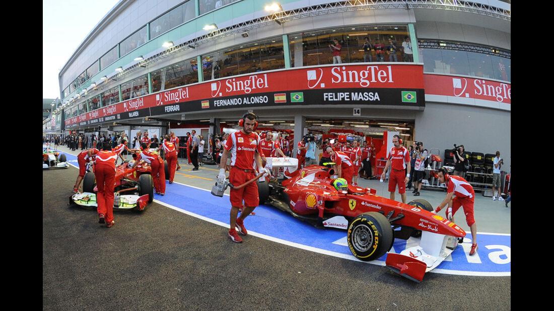 Felipe Massa Ferrari GP Singapur 2011