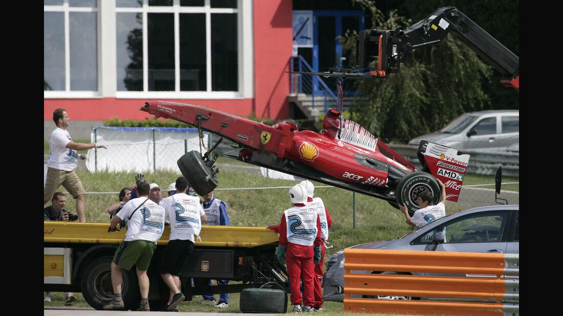 Felipe Massa - Ferrari - GP Ungarn 2009