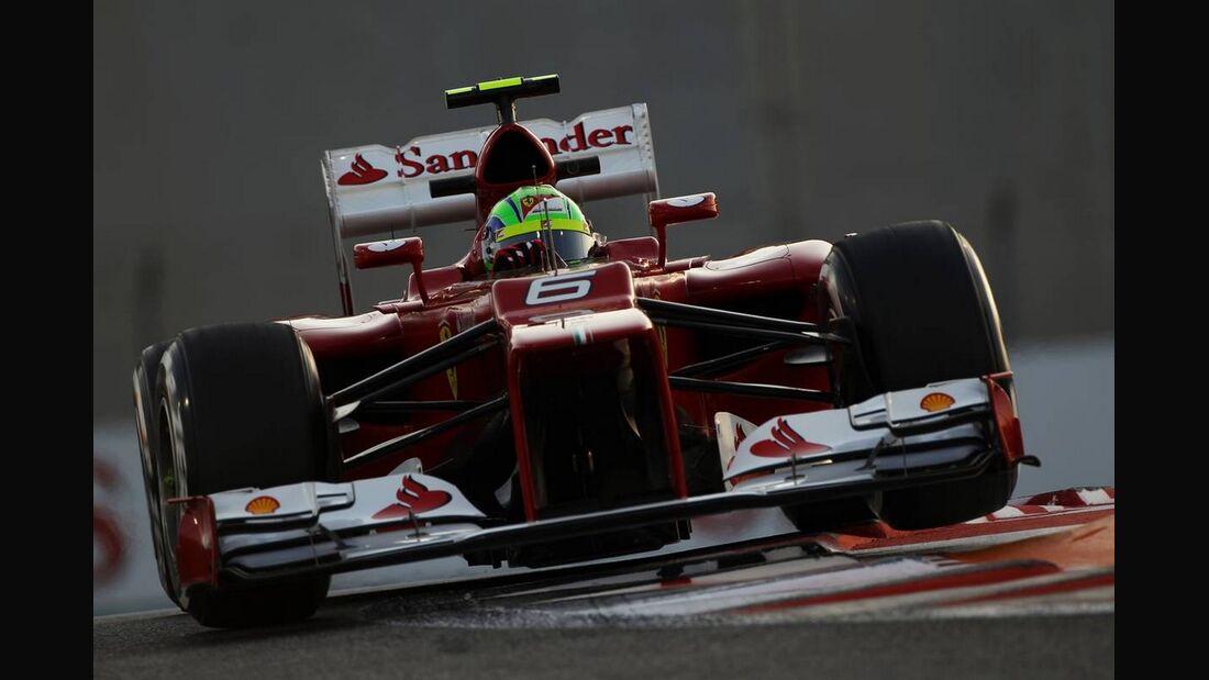 Felipe Massa - Formel 1 - GP Abu Dhabi - 02. November 2012
