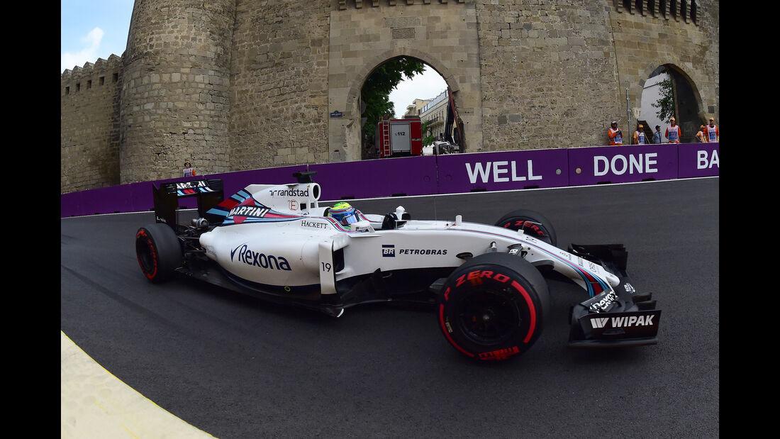 Felipe Massa - Formel 1 - GP Aserbaidschan 2016