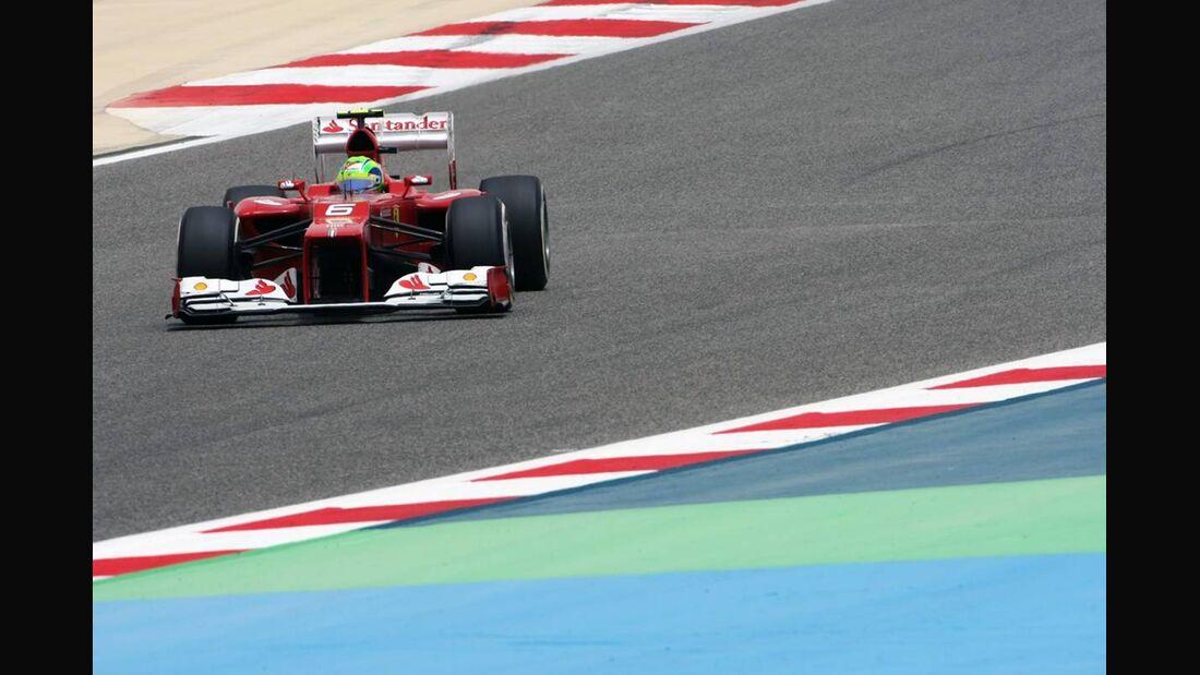 Felipe Massa - Formel 1 - GP Bahrain - 21. April 2012