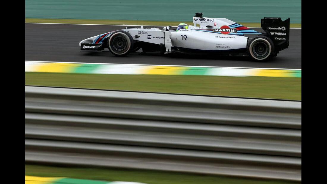 Felipe Massa - Formel 1 - GP Brasilien- 7. November 2014