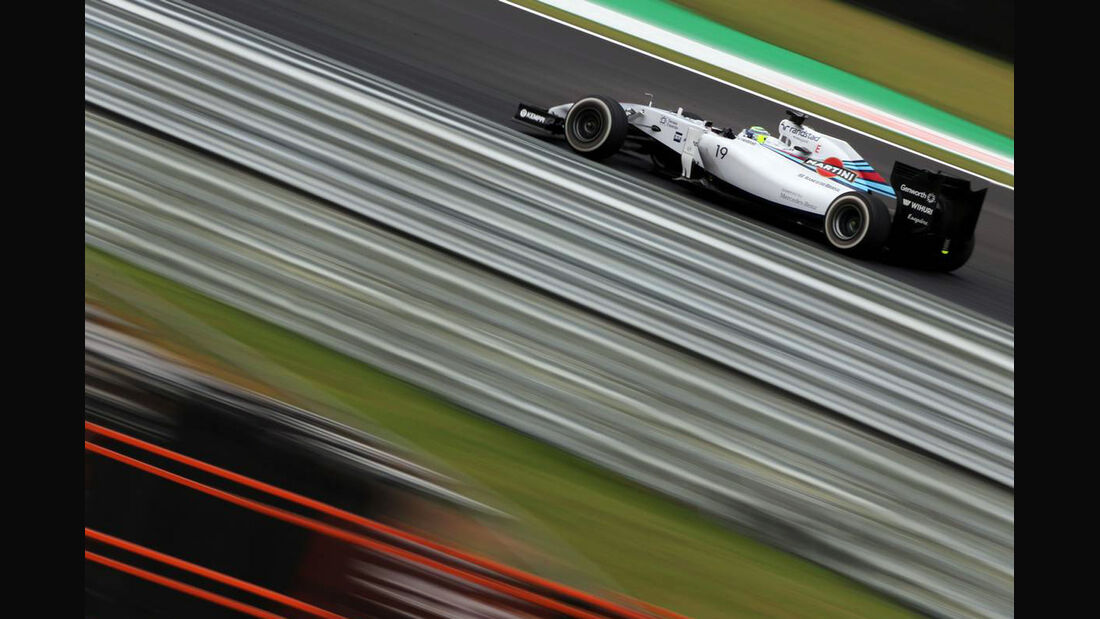Felipe Massa - Formel 1 - GP Brasilien - 8. November 2014