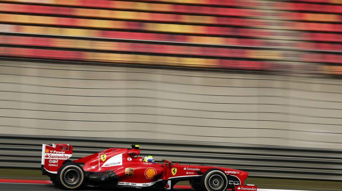 Felipe Massa - Formel 1 - GP China -12. April 2013