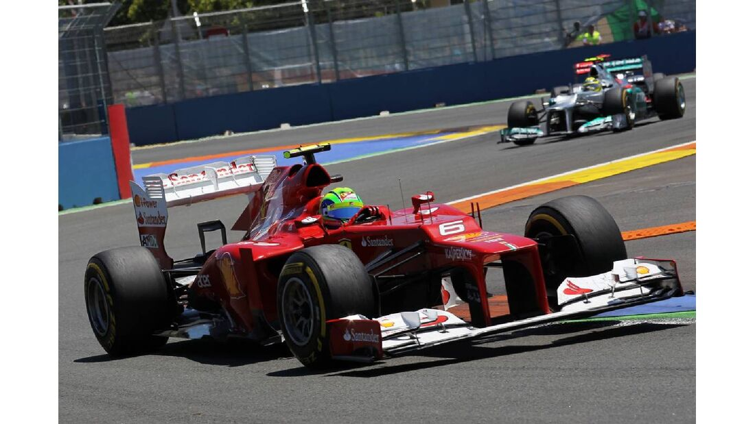 Felipe Massa  - Formel 1 - GP Europa - 24. Juni 2012